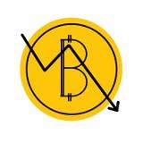 Innovative Kriptographiewährung Schlüsselwährung lizenzfreie abbildung