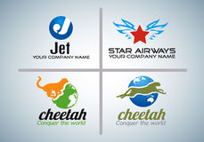 Innovative logo design Royalty Free Stock Photography