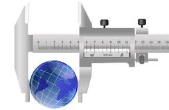 Innovative metrology. The modern concept in sphere of innovative technologies of metrology Stock Photo