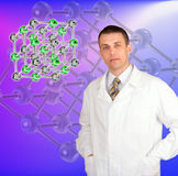 Innovative scientific researches Royalty Free Stock Photo
