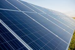 Innovative solar energy panels. Royalty Free Stock Photos