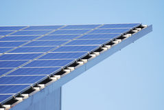 Innovative Solar Panels Stock Photo