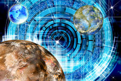 Innovative space research Stock Images