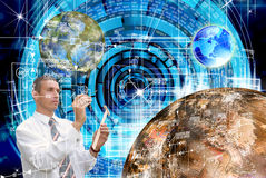 Innovative space research Royalty Free Stock Image