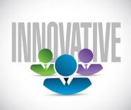 innovative team sign illustration design graphic Stock Images