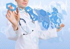Innovative Technologien in der Medizin Lizenzfreies Stockbild