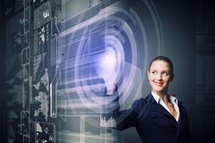 Innovative technologies Stock Images