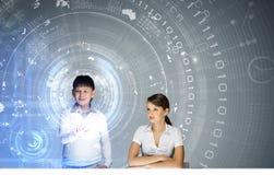 Innovative technologies lesson Stock Photo