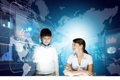 Innovative technologies lesson Royalty Free Stock Photo