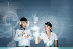 Innovative technologies lesson Stock Photo