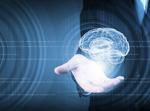 Innovative technologies in medicine Stock Image