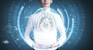 Innovative technologies in medicine Royalty Free Stock Images