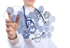 Innovative technologies in medicine Royalty Free Stock Photo