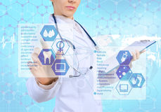 Innovative technologies in medicine Royalty Free Stock Image
