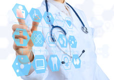 Innovative technologies in medicine Royalty Free Stock Photography