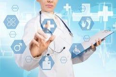 Innovative technologies in medicine Royalty Free Stock Photos
