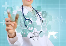 Innovative technologies in medicine Stock Images