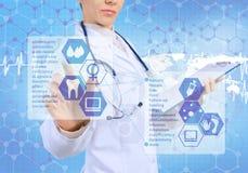 Innovative technologies in medicine Stock Photography