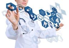 Innovative technologies in medicine Stock Photo