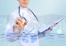 Innovative technologies in medicine Royalty Free Stock Photo