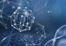Innovative technologies in science and medicine. Concept Royalty Free Stock Photos