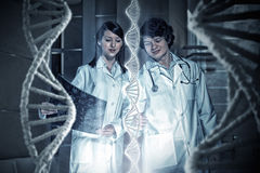 Innovative technologies in science and medicine . Mixed media Stock Photography
