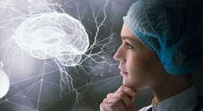 Innovative technologies in science and medicine . Mixed media Stock Images