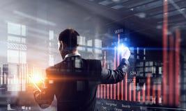 Innovative technologies in use . Mixed media Stock Photos