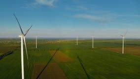 Innovative wind turbines generating sustainable energy saving environment.