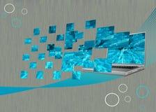 Innovatives Notizbuch Stockbilder