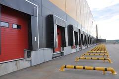 Innovativt logistiskt lagerkomplex arkivbild
