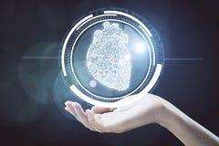 Innovativt teknologibegrepp royaltyfri illustrationer