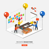 Innovator_Brainstorm Royalty Free Stock Image