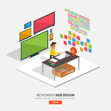 Innovator_Brainstorm royalty free illustration