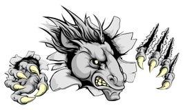 Innovazione dell'artiglio del cavallo illustrazione di stock
