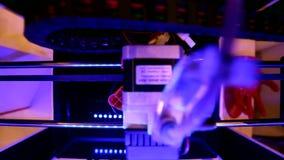 Innovazione e tehnologies di stampa 3d video d archivio