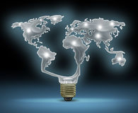 Innovazione globale Immagine Stock