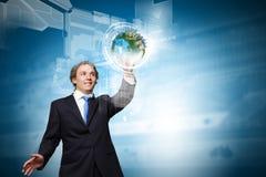 Innovazioni di tecnologia Fotografie Stock Libere da Diritti