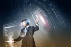 Innovazioni di tecnologia Immagine Stock