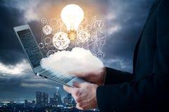 Innowaci i analityka pojęcie Zdjęcie Royalty Free