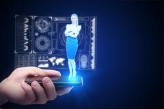 Innowaci i komunikaci pojęcie Obraz Stock
