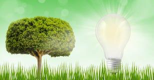 Innowacja bezpłatnej energii pojęcie zdjęcie royalty free