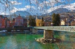 Innsbruck Áustria Fotografia de Stock Royalty Free
