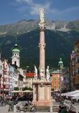 Innsbruck in Österreich Stockfoto
