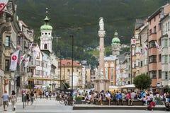 Innsbruck Österrike royaltyfria foton