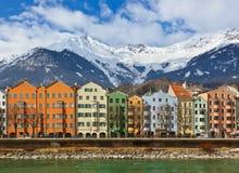 Innsbruck Österrike Arkivfoton