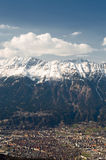 Innsbruck. Panorama from Innsbruck in Austria Stock Photography