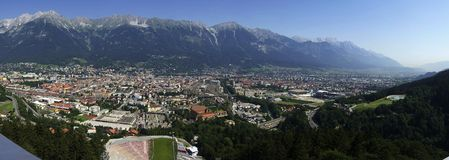 Innsbruck Royalty Free Stock Photography