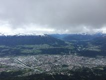 innsbruck photographie stock