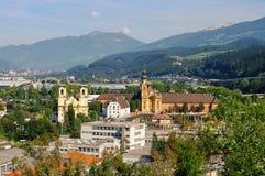 Innsbruck Abbey Wilten Stock Photography